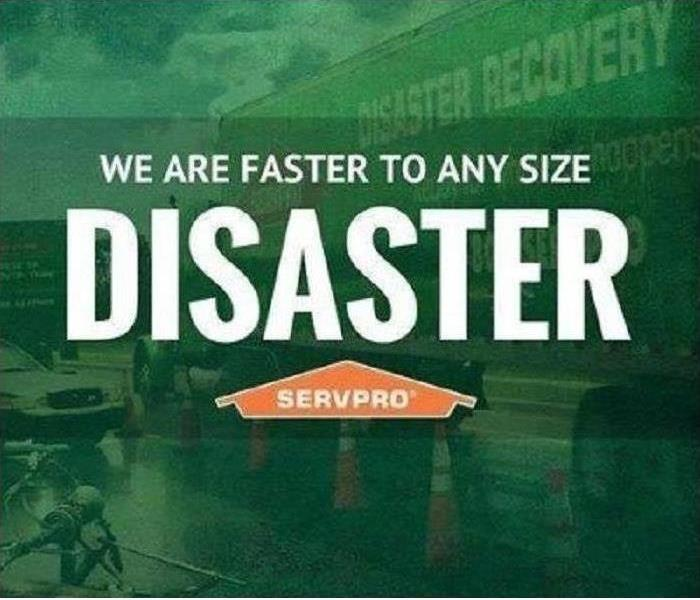 Why SERVPRO Why SERVPRO of Howell/Wall - Faster to Any Disaster!