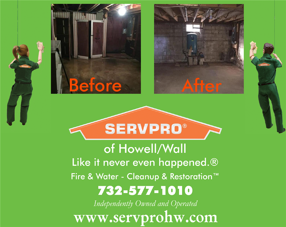 SERVPRO of Howell/Wall